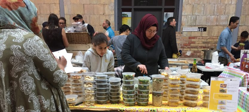 Baraka Bites Cooking Program for Syrians