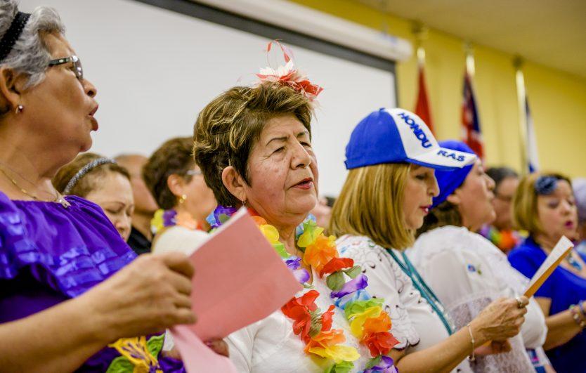 Participants in CultureLink's seniors programs