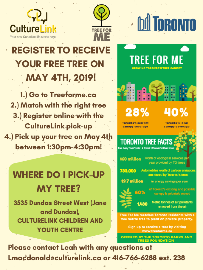 Tree For Me Flyer