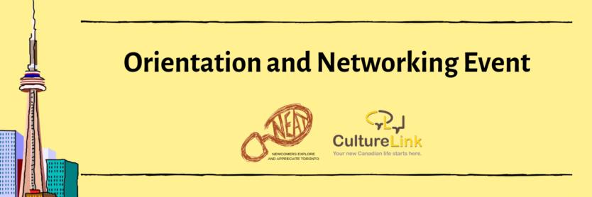 CultureLink Event Banner NEAT Orientation