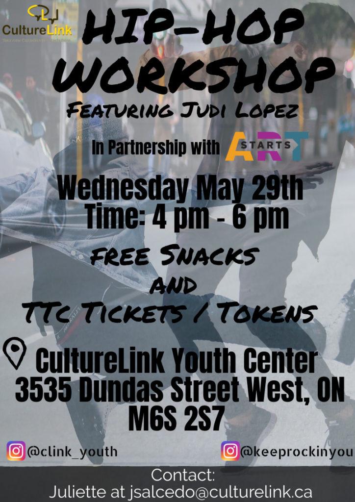 Hip Hop Workshop May 2019