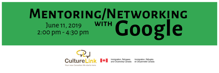 CultutureLinka Google Mentoring and Networking Event June 2019