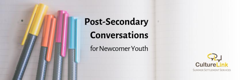 CultureLink Post-Secondary Conversations