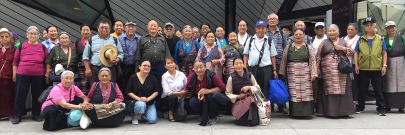 Post Header SSP Tibetans Seniors visit ROM