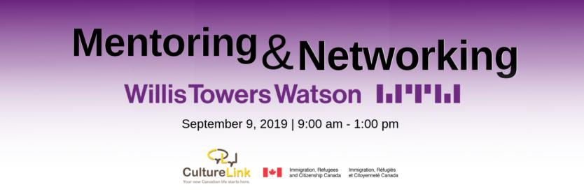 Event Header WIllis Towers Watson Mentoring Networking