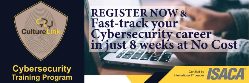 CultureLink Event Banner Cybersecurity Training Program