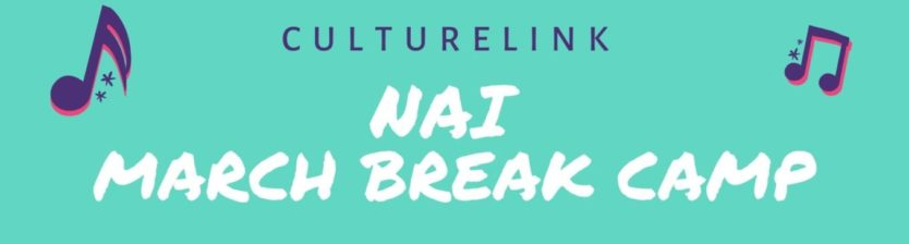 Event Banner Nai March Break Camp 2020