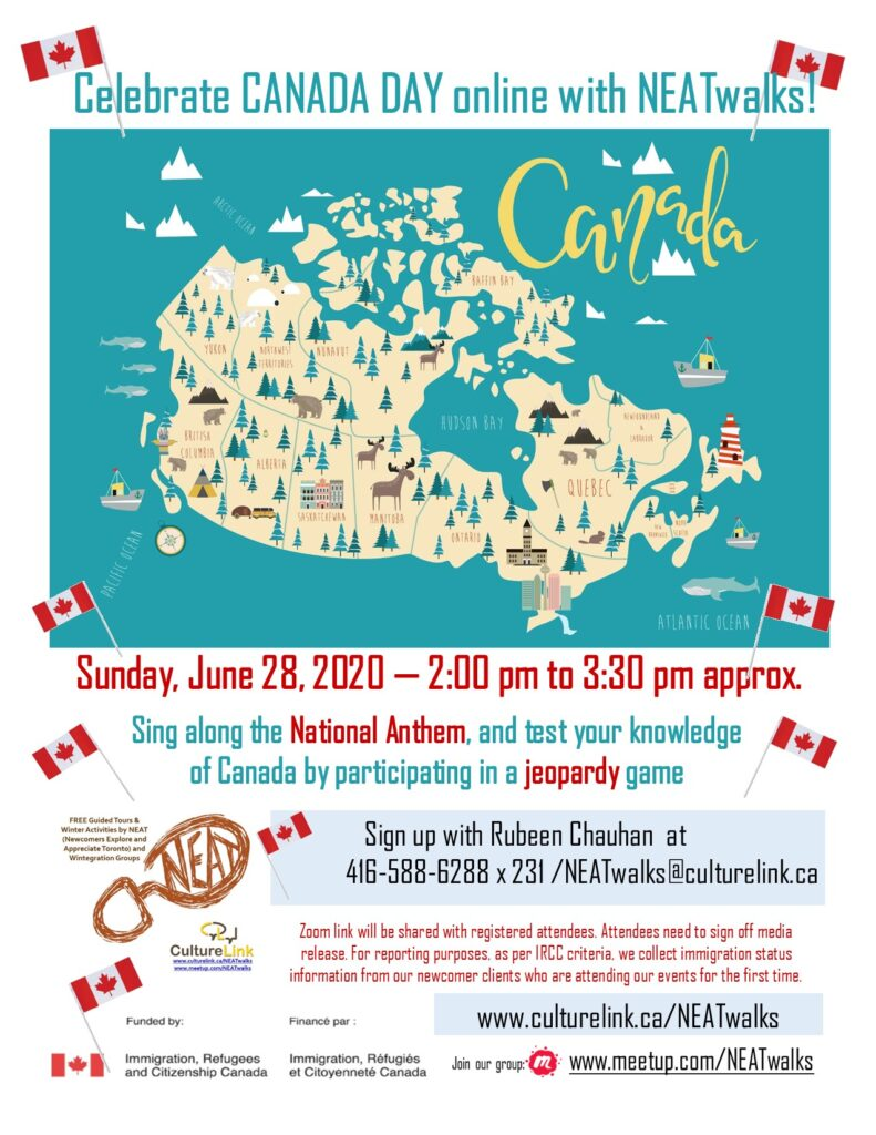 Flyer NEAT Canada Day 2020