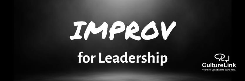 CultureLink Event Banner Improv for Leadership