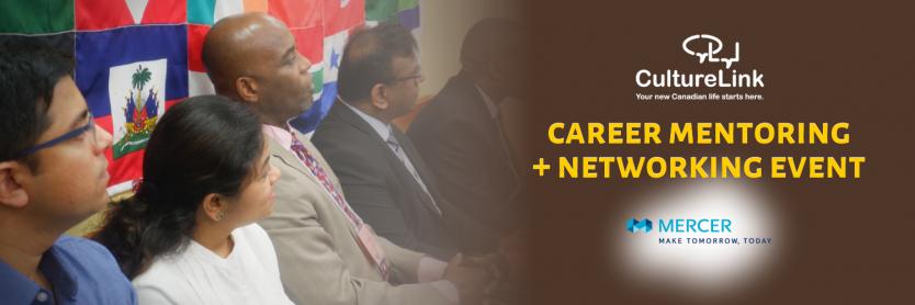 CultureLink Event Banner Mentoring Networking with Mercer