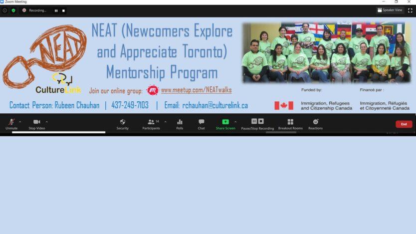 NEAT program banner