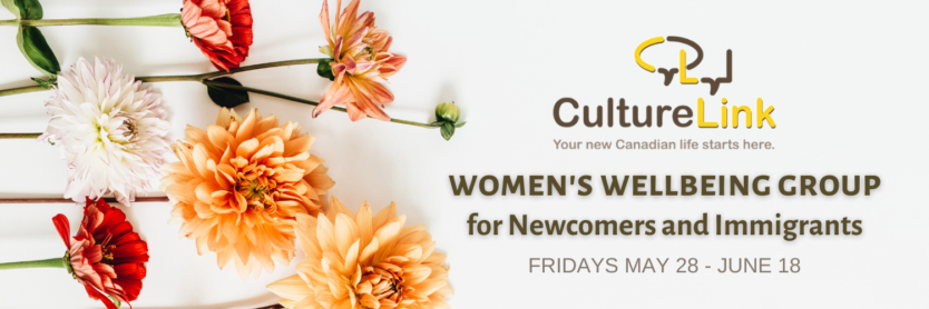 CultureLink Event Banner Women Wellbeing Group